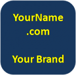 Protect your personal brand with your own domain name