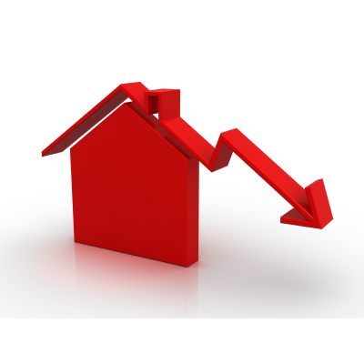 Property prices do go down